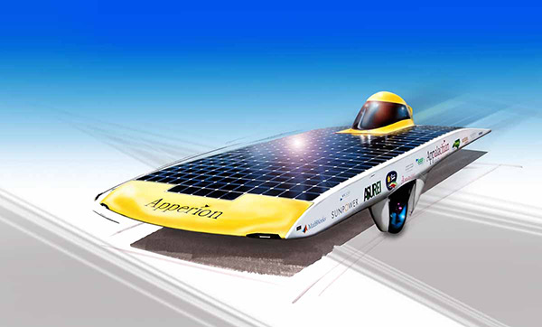Solar Vehicle illustration