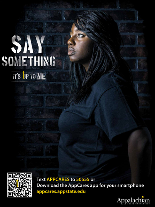 Award Winning Work Its Up To Me Bystander Awareness Safety Campaign